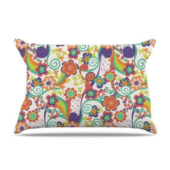 "Louise Machado ""Printemps"" Pillow Sham - KESS InHouse"