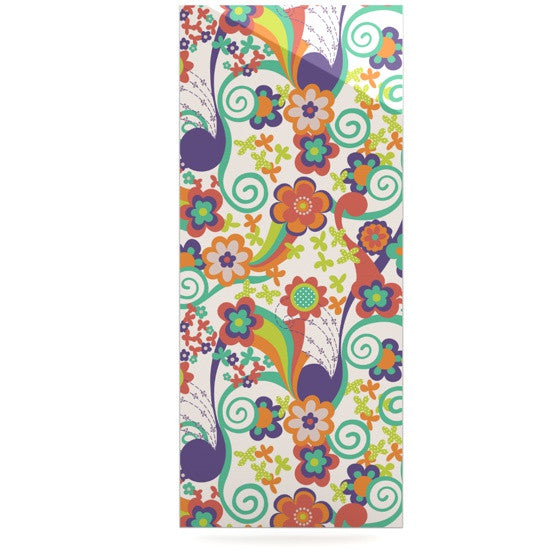 "Louise Machado ""Printemps"" Luxe Rectangle Panel - KESS InHouse  - 1"