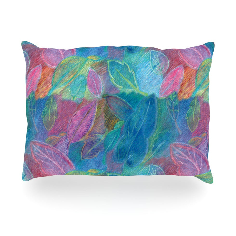 "Louise Machado ""Rabisco"" Oblong Pillow - KESS InHouse"