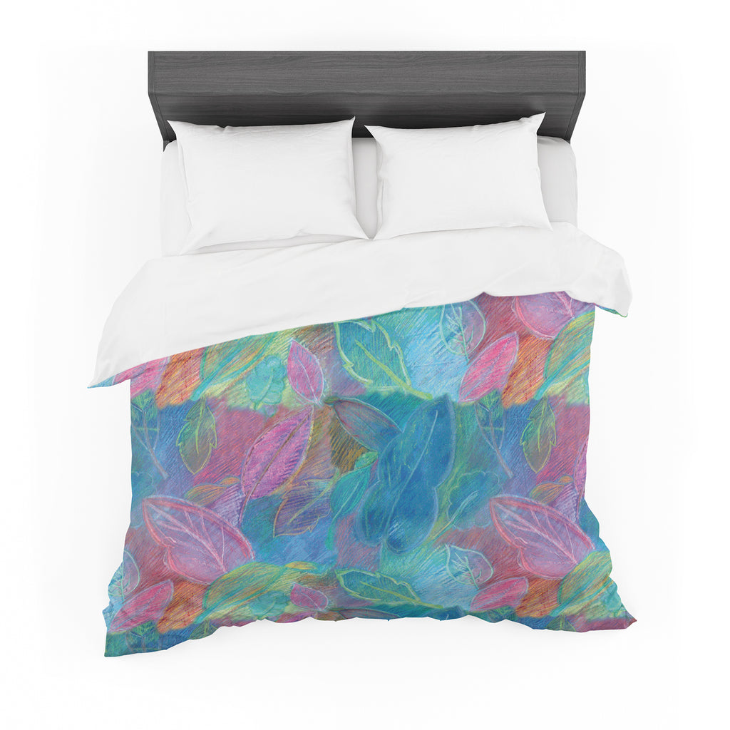 "Louise Machado ""Rabisco"" Cotton Duvet"
