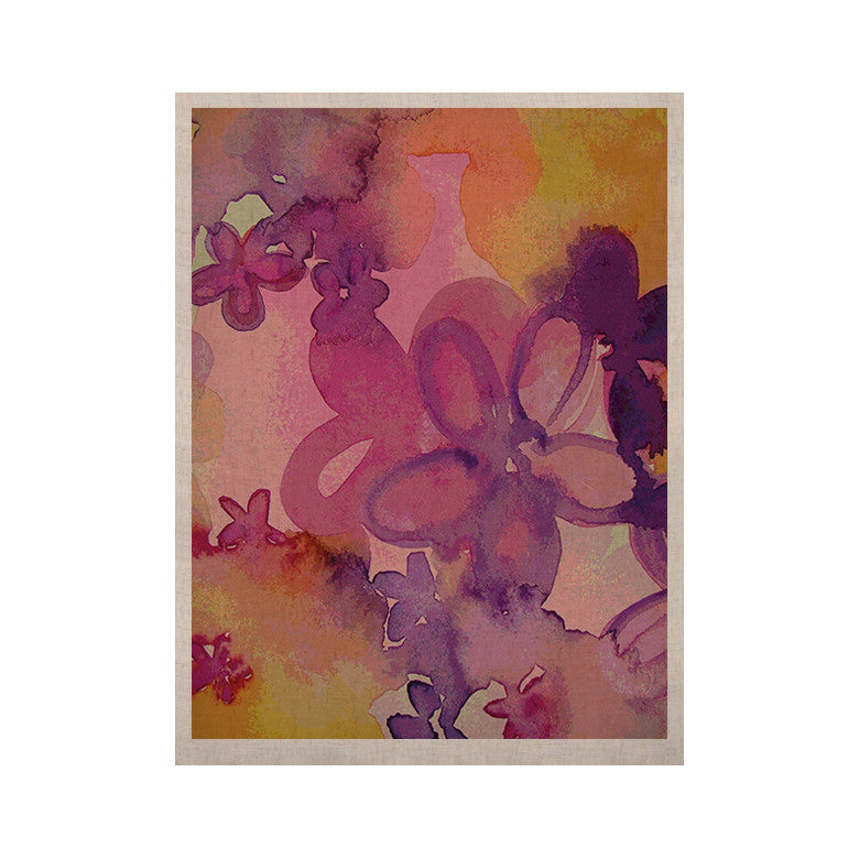 "Louise Machado ""Dissolved Flowers"" KESS Naturals Canvas (Frame not Included) - KESS InHouse  - 1"