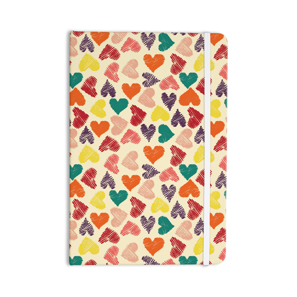 "Louise Machado ""Little Hearts"" Everything Notebook - KESS InHouse  - 1"