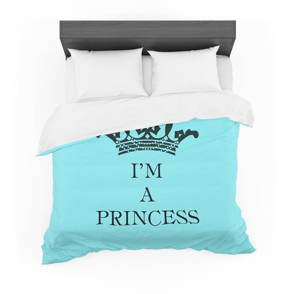 "Louise Machado ""Im a Princess"" Cotton Duvet"