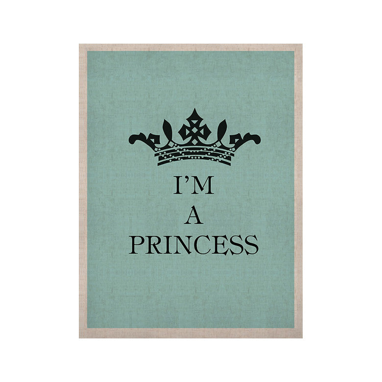 "Louise Machado ""Im a Princess"" KESS Naturals Canvas (Frame not Included) - KESS InHouse  - 1"