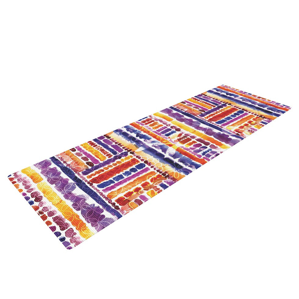 "Louise Machado ""Tribal"" Yoga Mat - KESS InHouse  - 1"
