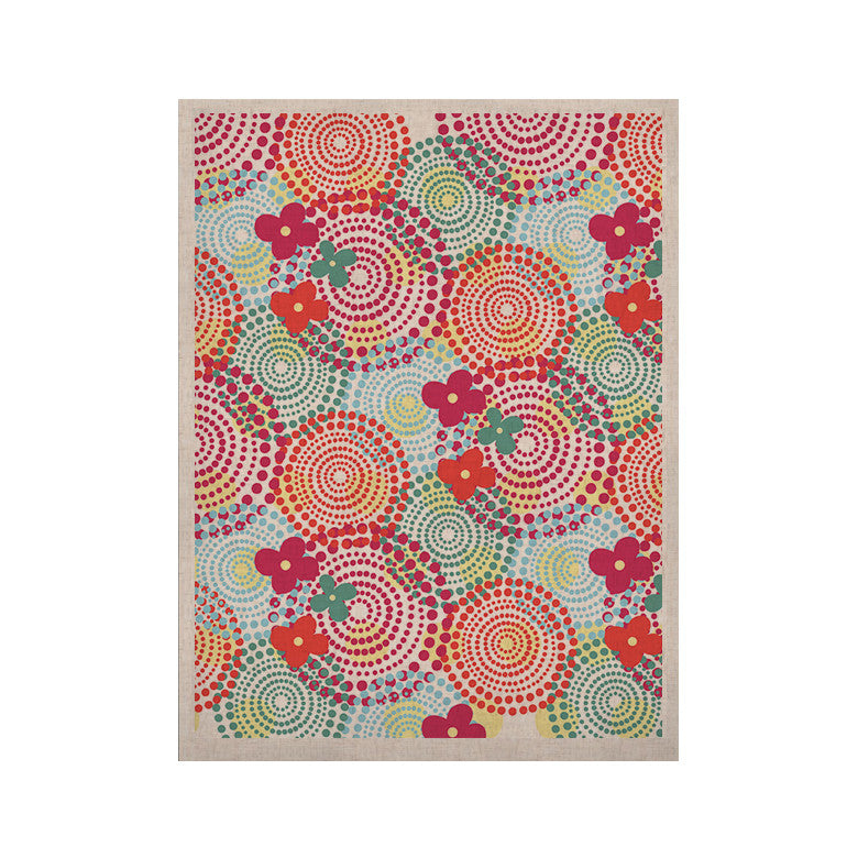 "Louise Machado ""Balls"" Red Blue KESS Naturals Canvas (Frame not Included) - KESS InHouse  - 1"