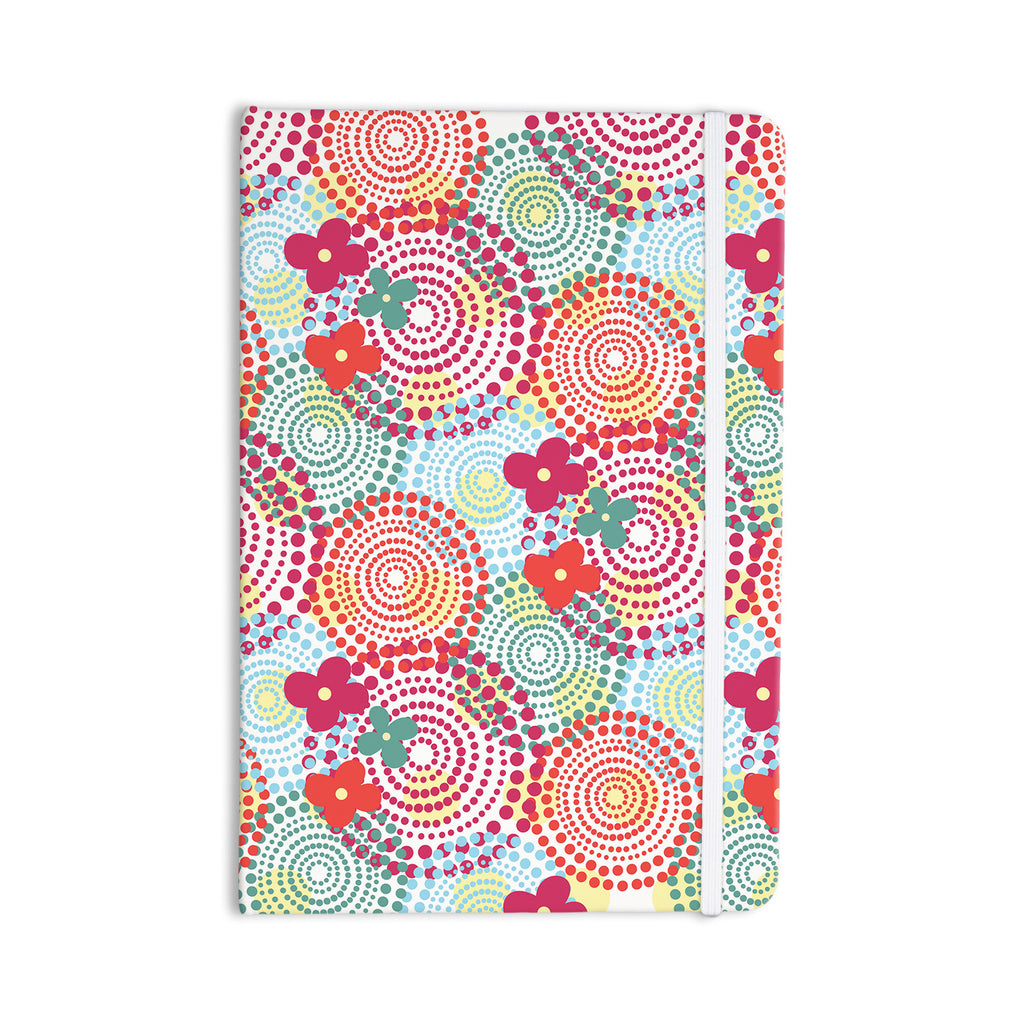 "Louise Machado ""Balls"" Red Blue Everything Notebook - KESS InHouse  - 1"