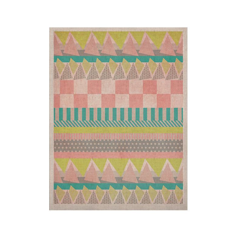 "Louise Machado ""Luna"" Pastel Pattern KESS Naturals Canvas (Frame not Included) - KESS InHouse  - 1"