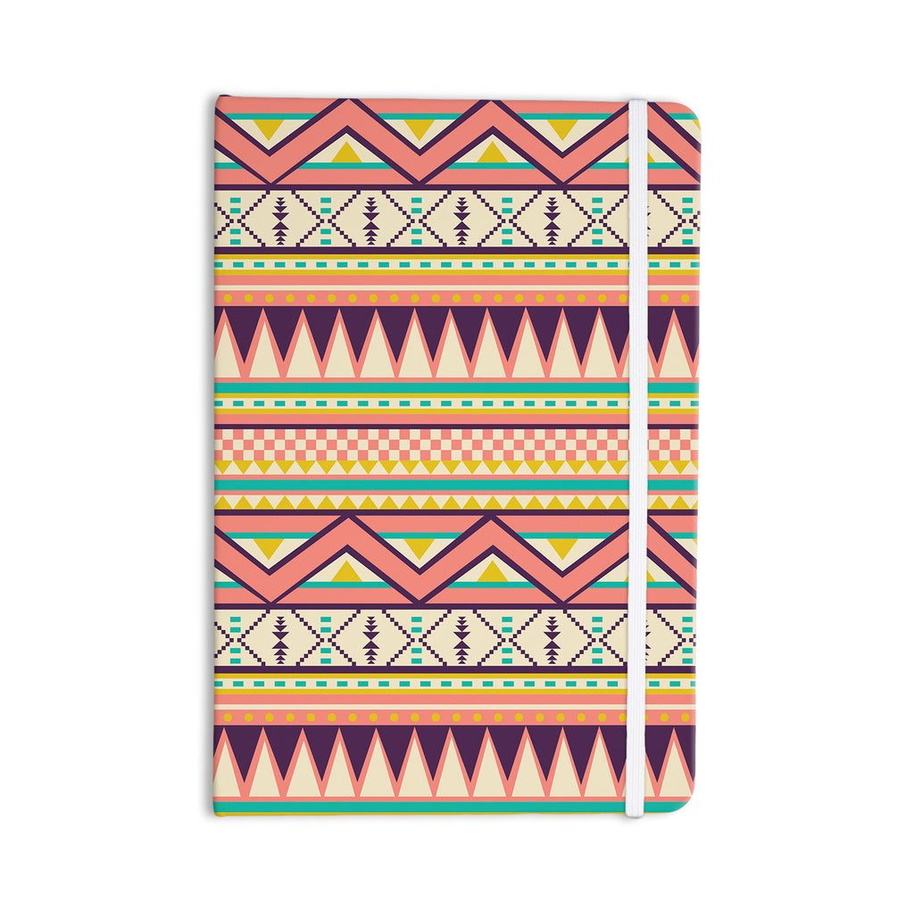 "Louise Machado ""Ethnic Love"" Tribal Geometric Everything Notebook - KESS InHouse  - 1"