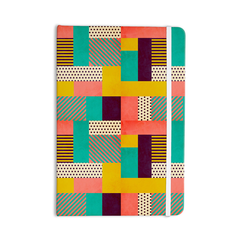 "Louise Machado ""Geometric Love"" Pattern Abstract Everything Notebook - KESS InHouse  - 1"
