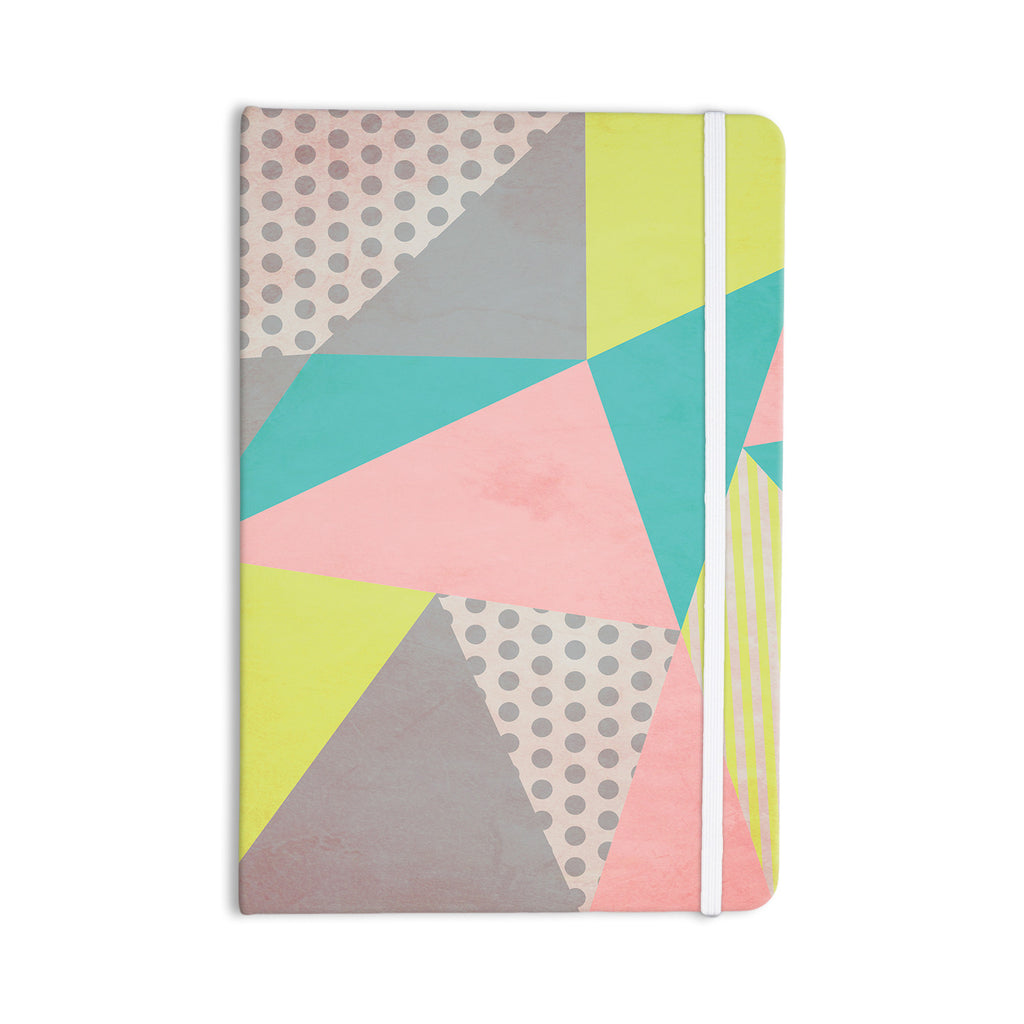 "Louise Machado ""Geometric Pastel"" Everything Notebook - KESS InHouse  - 1"