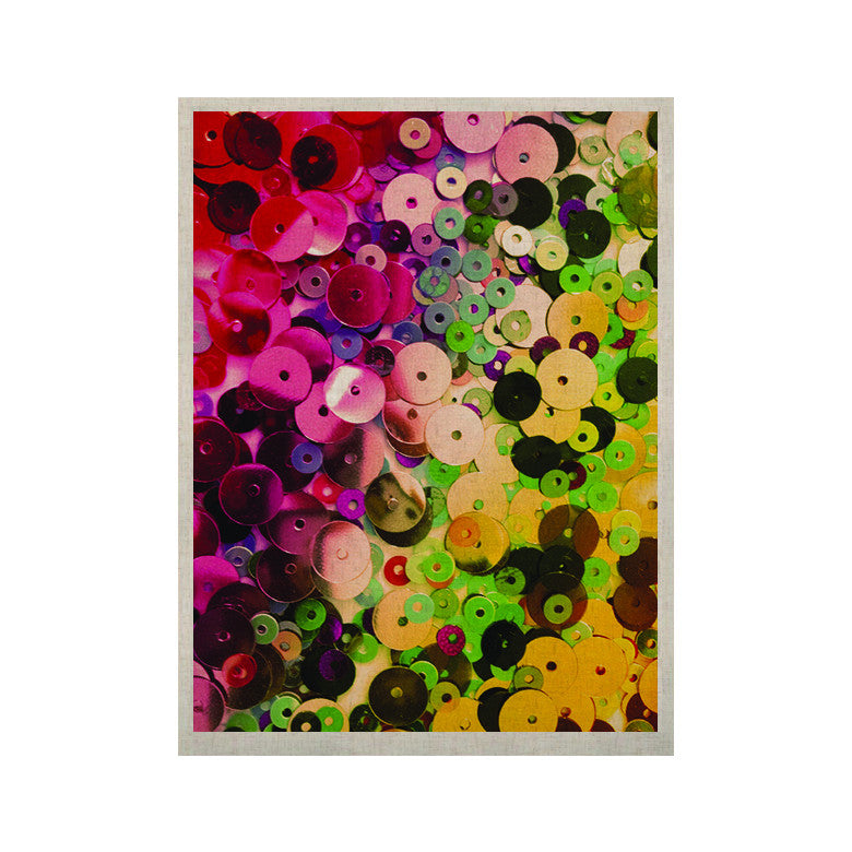 "Louise Machado ""Spots"" Multicolor Sparkle KESS Naturals Canvas (Frame not Included) - KESS InHouse  - 1"