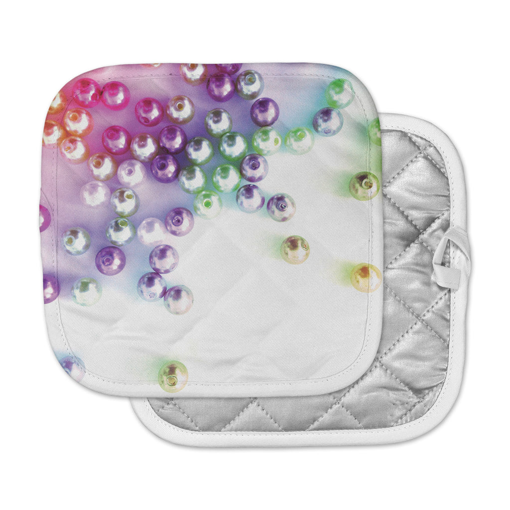 "Louise Machado ""Pearl"" Magenta Purple Pot Holder"