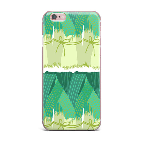 "Laura Nicholson ""Leeks"" iPhone Case - KESS InHouse"