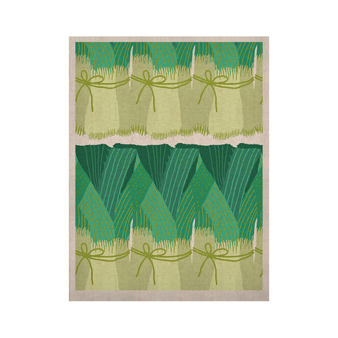 "Laura Nicholson ""Leeks"" KESS Naturals Canvas (Frame not Included) - KESS InHouse  - 1"