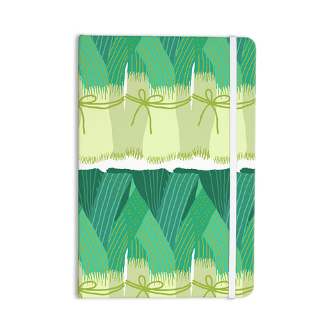 "Laura Nicholson ""Leeks"" Everything Notebook - KESS InHouse  - 1"
