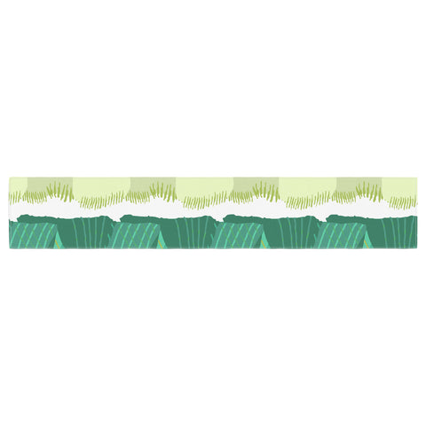 "Laura Nicholson ""Leeks"" Table Runner - KESS InHouse  - 1"