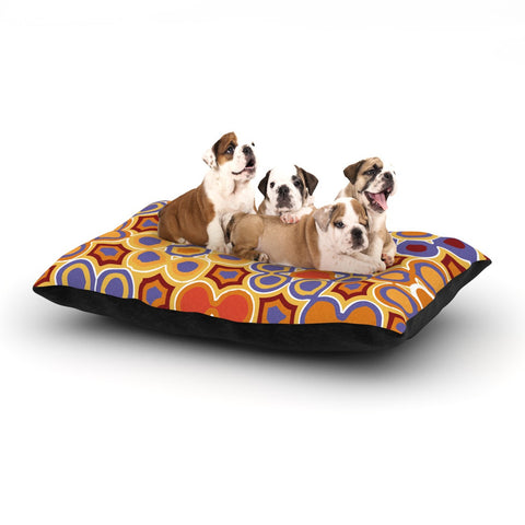 "Laura Nicholson ""Flower Garden"" Dog Bed - KESS InHouse  - 1"