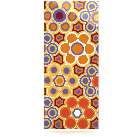 "Laura Nicholson ""Flower Garden"" Luxe Rectangle Panel - KESS InHouse  - 1"
