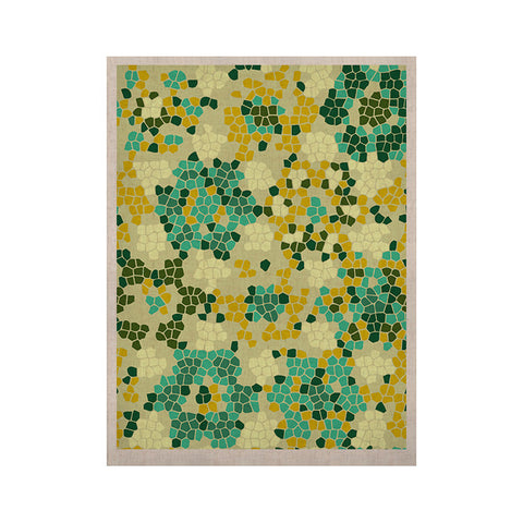 "Laura Nicholson ""Flower Garden Mosaic"" KESS Naturals Canvas (Frame not Included) - KESS InHouse  - 1"