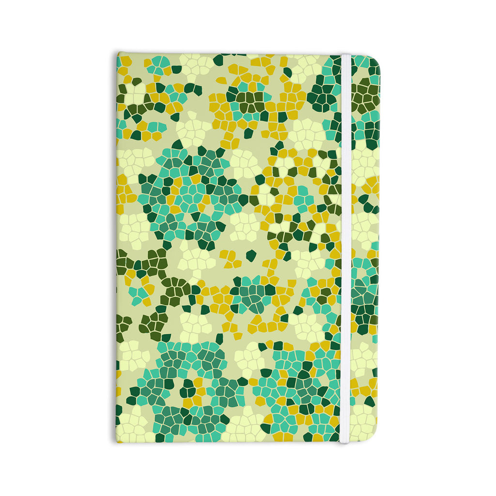"Laura Nicholson ""Flower Garden Mosaic"" Everything Notebook - KESS InHouse  - 1"
