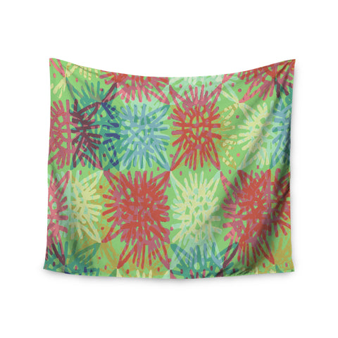 "Laura Nicholson ""Multi Lacy"" Wall Tapestry - KESS InHouse  - 1"