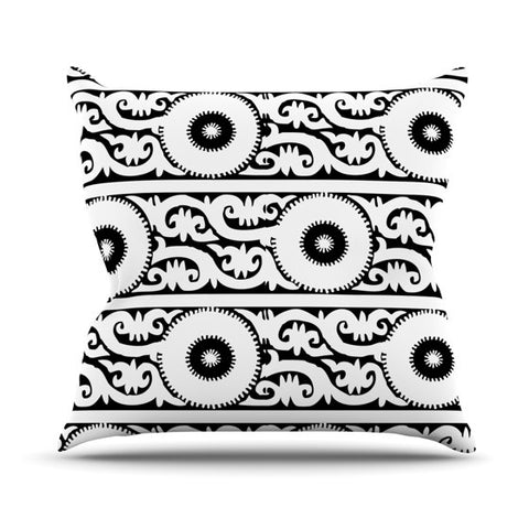 "Laura Nicholson ""Samarkand"" Outdoor Throw Pillow - KESS InHouse  - 1"
