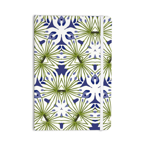 "Laura Nicholson ""Thalia"" Olive Floral Everything Notebook - KESS InHouse  - 1"