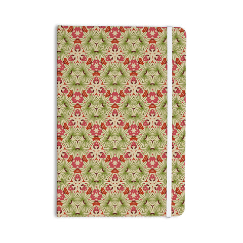 "Laura Nicholson ""Thalia, Pink"" Floral Abstract Everything Notebook - KESS InHouse  - 1"