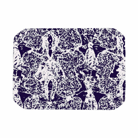 "Laura Nicholson ""Loony Lace"" Blue Illustration Place Mat - KESS InHouse"