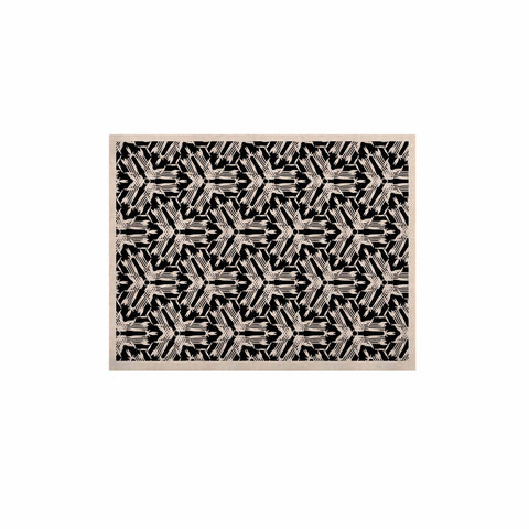 "Laura Nicholson ""Y Knot"" Black White KESS Naturals Canvas (Frame not Included) - KESS InHouse  - 1"