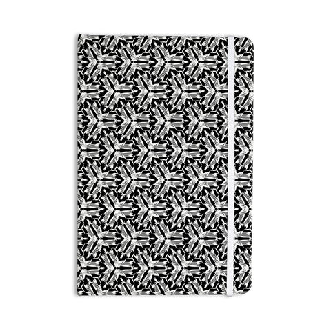 "Laura Nicholson ""Y Knot"" Black White Everything Notebook - KESS InHouse  - 1"