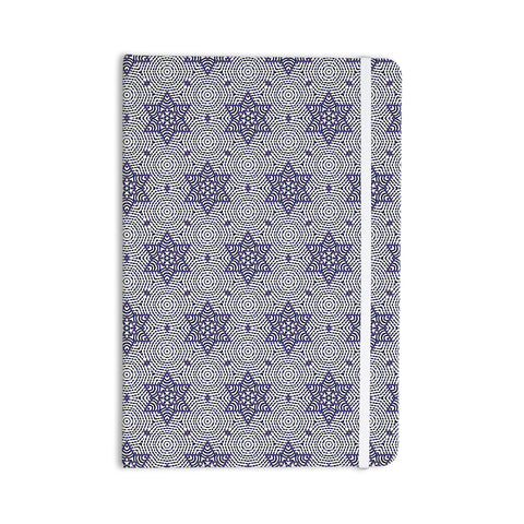 "Laura Nicholson ""Star Power"" Blue Geometric Everything Notebook - KESS InHouse  - 1"