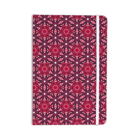 "Laura Nicholson ""Blooming Echinacea "" Magenta Floral Everything Notebook - KESS InHouse  - 1"