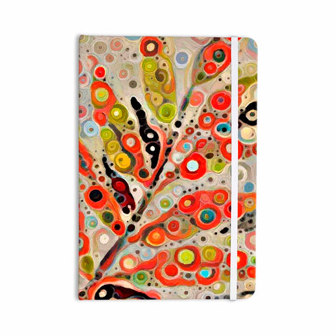 "Laura Nicholson ""Fall Color"" Orange Olive Nature Fantasy Illustration Digital Everything Notebook"