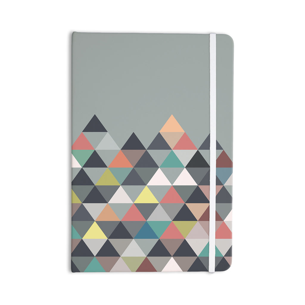"Mareike Boehmer ""Nordic Combination"" Gray Abstract Everything Notebook - KESS InHouse"