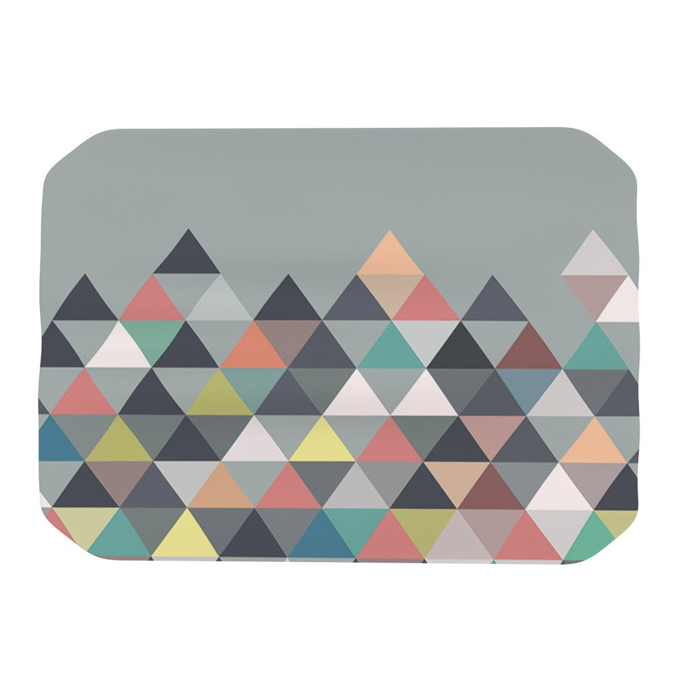 "Mareike Boehmer ""Nordic Combination"" Gray Abstract Place Mat - KESS InHouse"