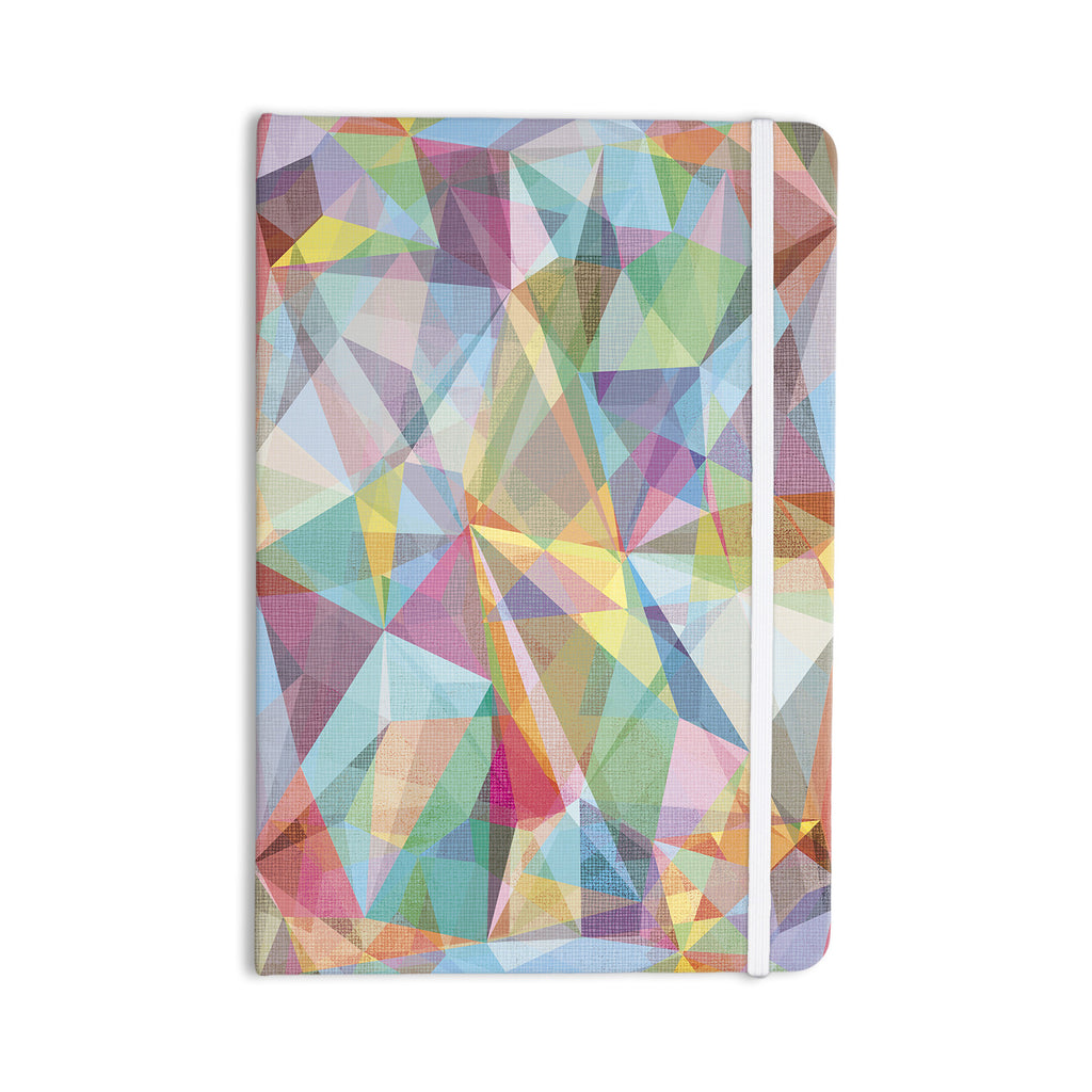"Mareike Boehmer ""Graphic 32"" Rainbow Abstract Everything Notebook - KESS InHouse  - 1"