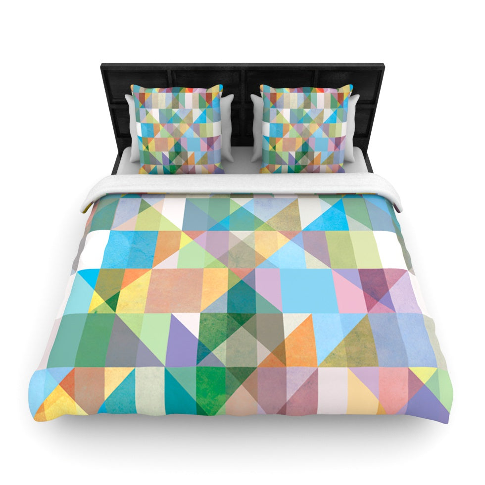 "Mareike Boehmer ""Graphic 74"" Woven Duvet - Outlet Item"