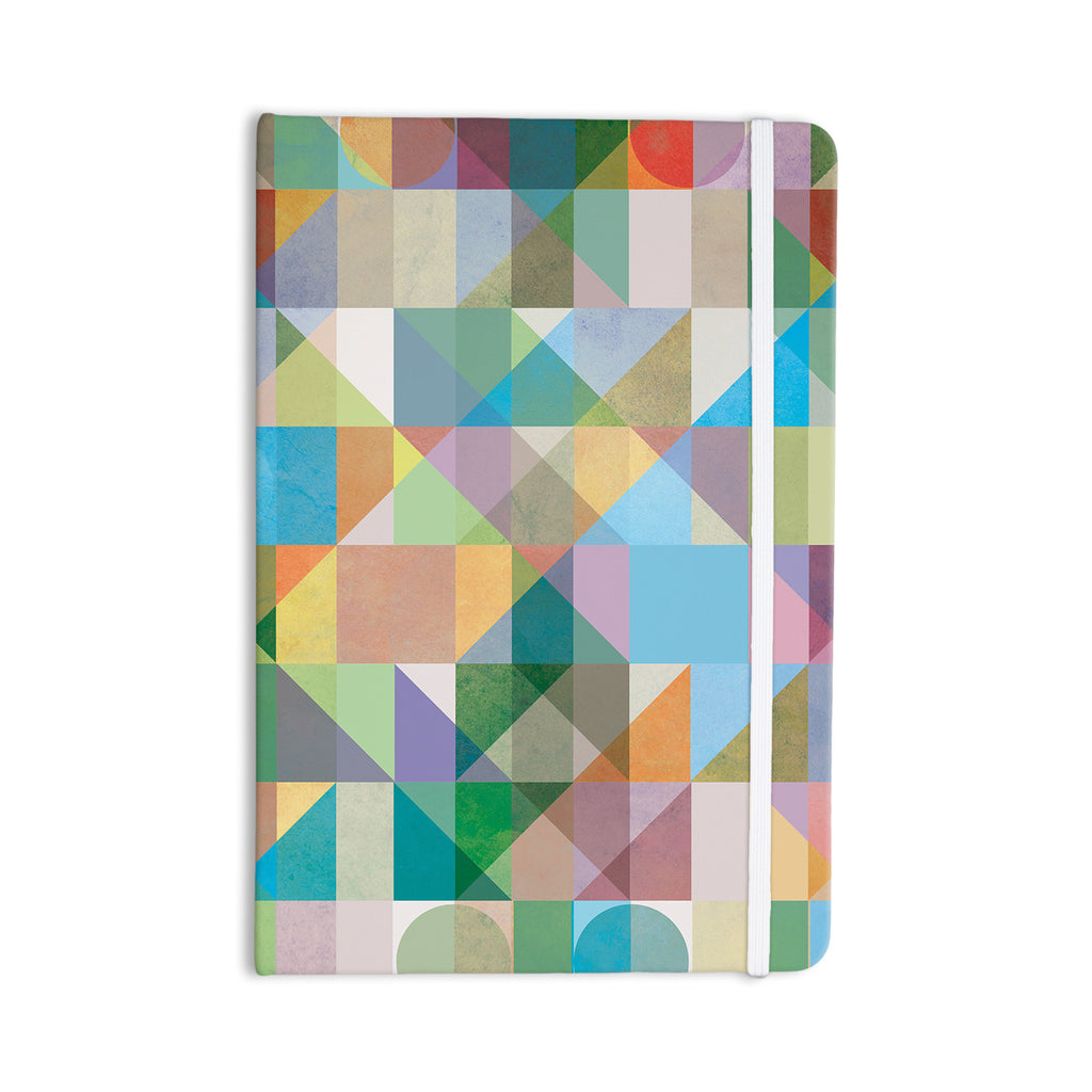 "Mareike Boehmer ""Graphic 74"" Rainbow Abstract Everything Notebook - KESS InHouse  - 1"