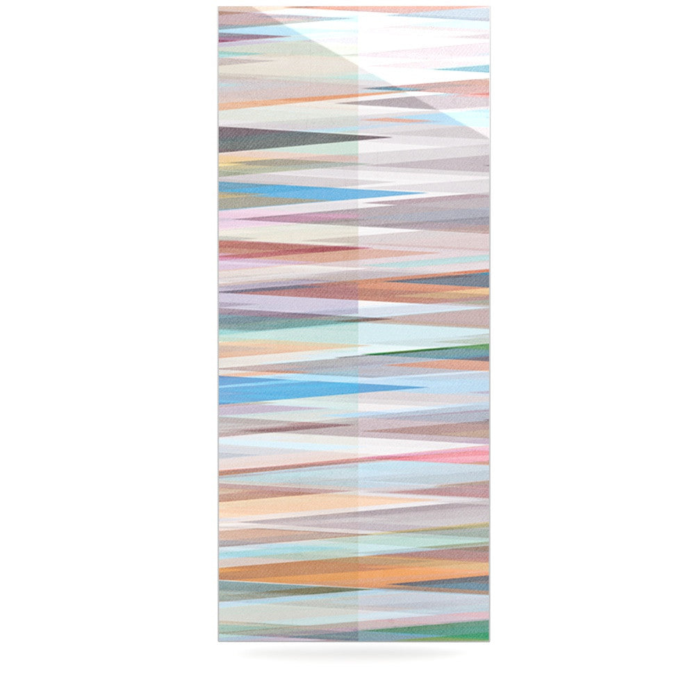 "Mareike Boehmer ""Nordic Combination II"" Rainbow Abstract Luxe Rectangle Panel - KESS InHouse  - 1"