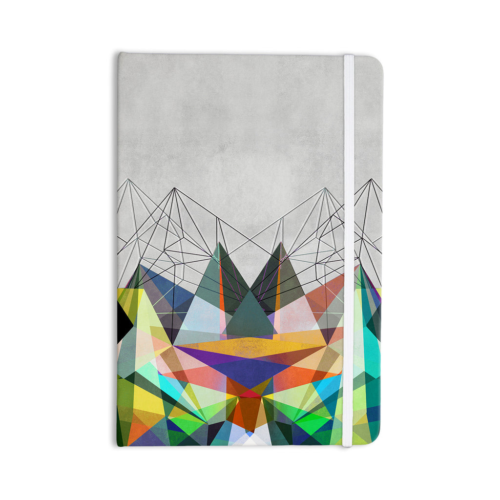 "Mareike Boehmer ""Colorflash 3X"" Grey Rainbow Everything Notebook - KESS InHouse  - 1"