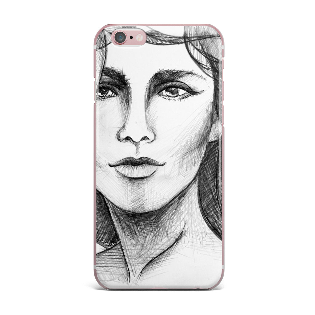 "Maria Bazarova ""Fashion Woman "" Black People iPhone Case - KESS InHouse"