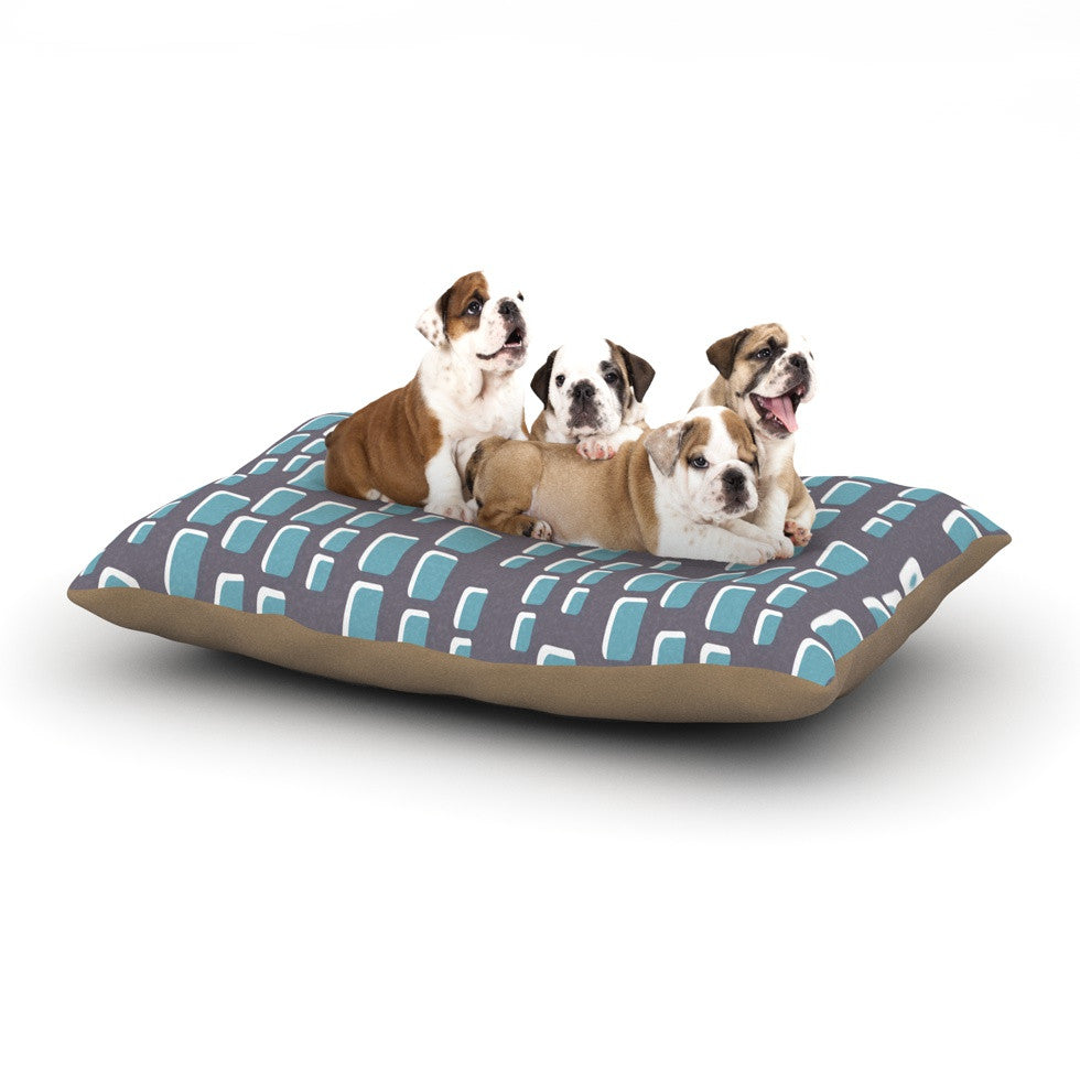 "Michelle Drew ""Cubic Geek Chic"" Dog Bed - KESS InHouse  - 1"