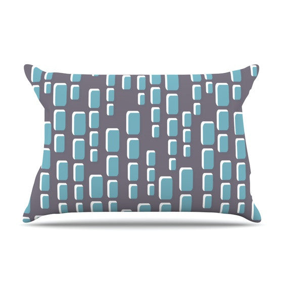 "Michelle Drew ""Cubic Geek Chic"" Pillow Sham - KESS InHouse"
