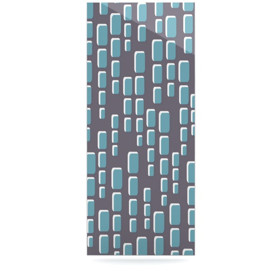 "Michelle Drew ""Cubic Geek Chic"" Luxe Rectangle Panel - KESS InHouse  - 1"