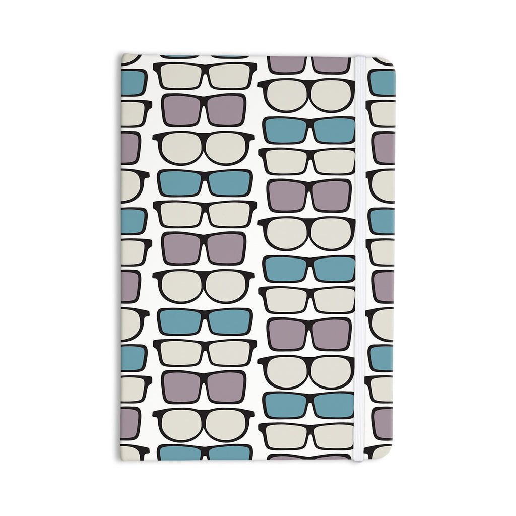 "Michelle Drew ""Spectacles Geek Chic"" Everything Notebook - KESS InHouse  - 1"