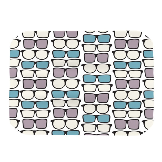"Michelle Drew ""Spectacles Geek Chic"" Place Mat - KESS InHouse"