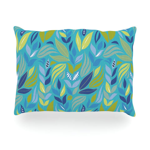 "Michelle Drew ""Underwater Bouquet"" Oblong Pillow - KESS InHouse"