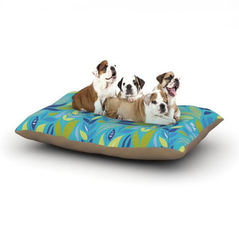 "Michelle Drew ""Underwater Bouquet"" Dog Bed - KESS InHouse  - 1"